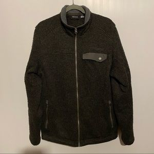 Marmot Wool Blend Full Zip Jacket Large
